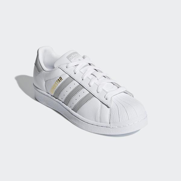 Superstar Shoes Cloud White / Grey / Cloud White B42002
