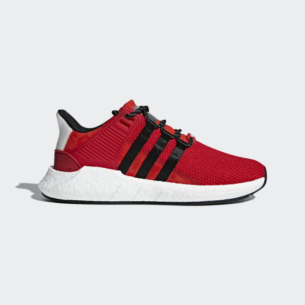 EQT Support 9317 Shoes Scarlet  Core Black  Grey CQ2398