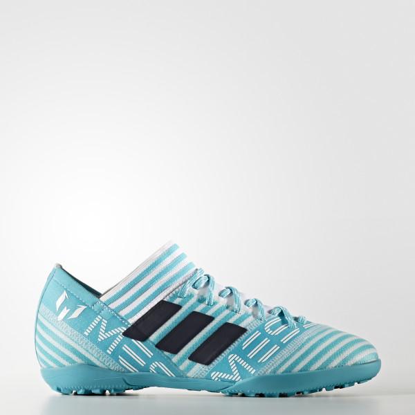 dec87c6792fb ... TF JUNIOR new arrival a2352 fa135  Nemeziz Messi Tango 17.3 Turf Shoes  Cloud White Legend Ink Energy Blue S77196 sports shoes 9fe38  Adidas ...