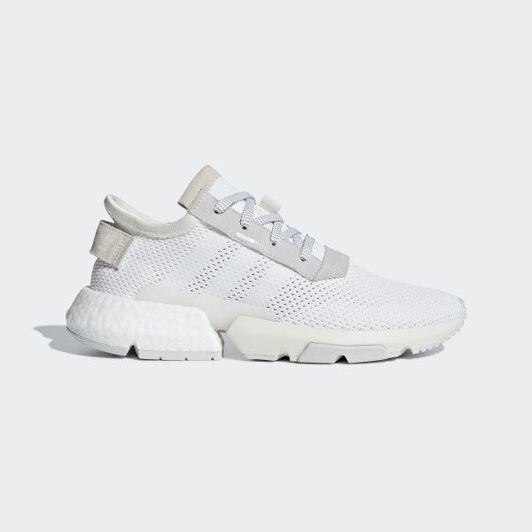 POD-S3.1 Shoes Cloud White  Cloud White  Grey B28089