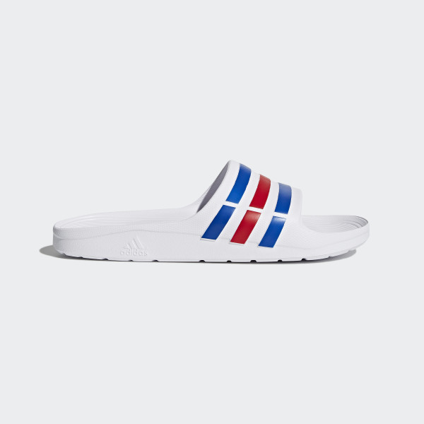 sports shoes abe63 59f13 duramo Slipper WhitePower BlueRed U43664