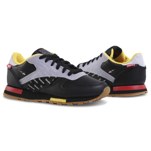 0a77990c39c1 Classic Leather Altered Black   Red   Yellow   Grey DV5240