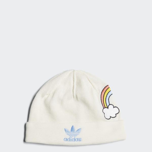 adidas Mini Rodini Rainbow Beanie - White  188edc1de286