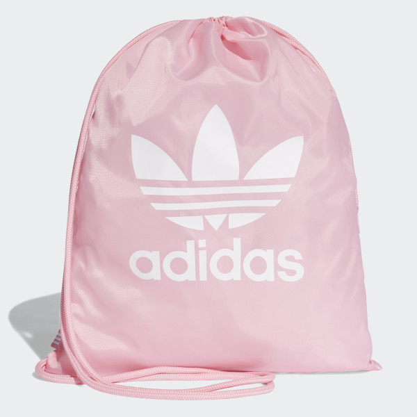 adidas Trefoil Gym Sack - Pink | adidas Switzerland
