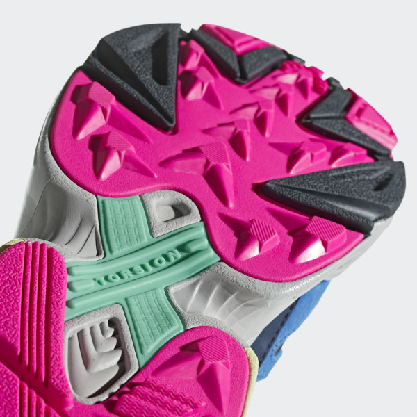 2c5c6 18960 womens adidas falcon w black pink running shoes bb9174  competitive price - newsbdonline.com a117a2abe