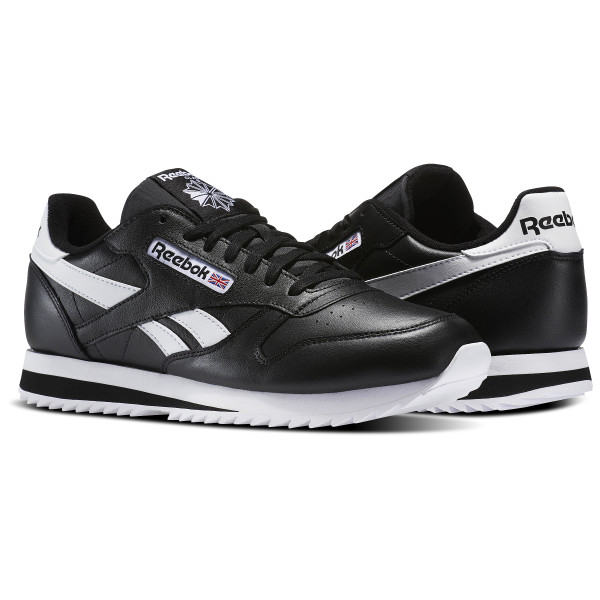 c6e15d36e ... Men,reebok kamikaze Classic Leather Ripple Low BP Black White BS8298 ...