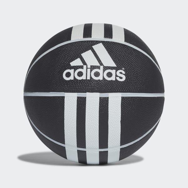 Pallone da basket 3-Stripes Rubber X Nero 279008