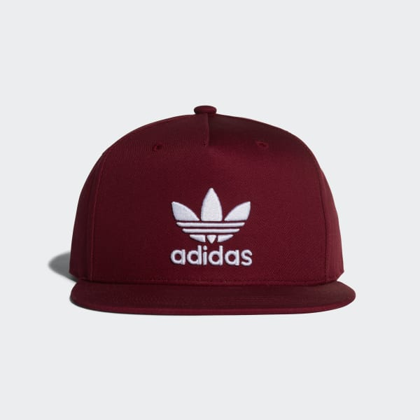 Trefoil Snap-Back Cap Red DH4281