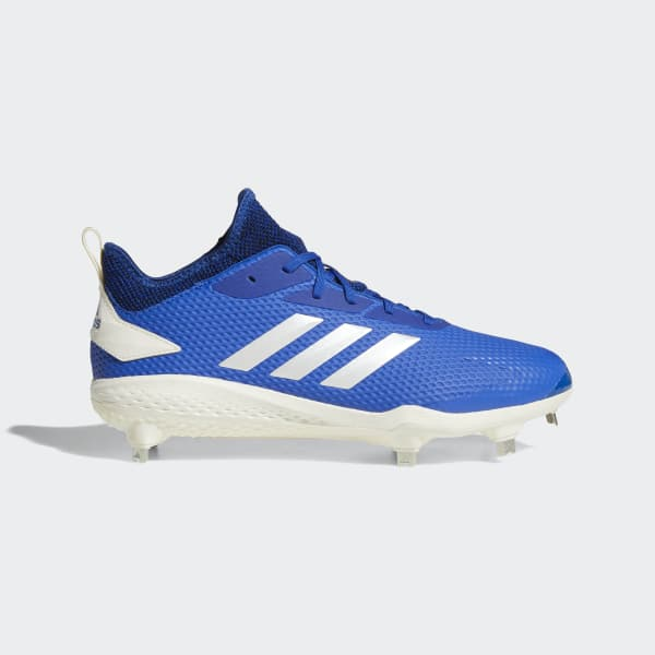 Adizero Afterburner V Cleats Blue CG5212