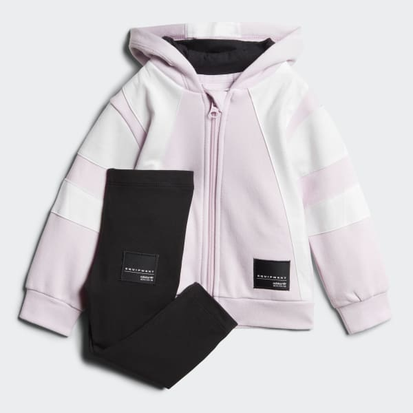 EQT Hoodie Set Pink CE4326