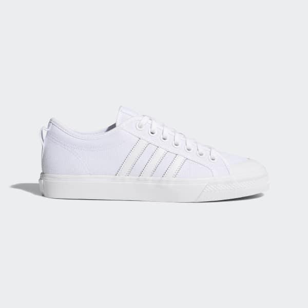 Chaussure basse Nizza blanc BZ0496