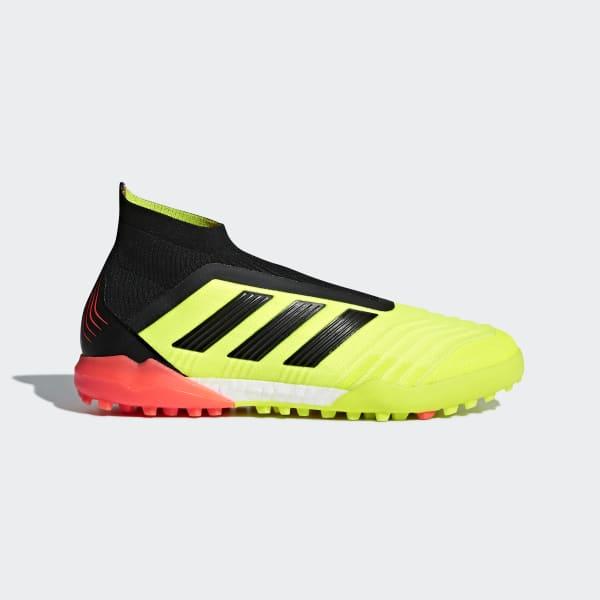 Predator Tango 18+ Turf Shoes Yellow DB2056