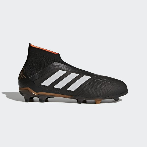 Predator 18+ Firm Ground Boots Black CP8982