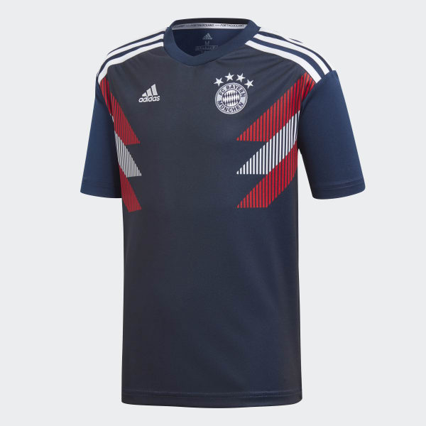FC Bayern München Home Pre-Match Shirt blau CW5819