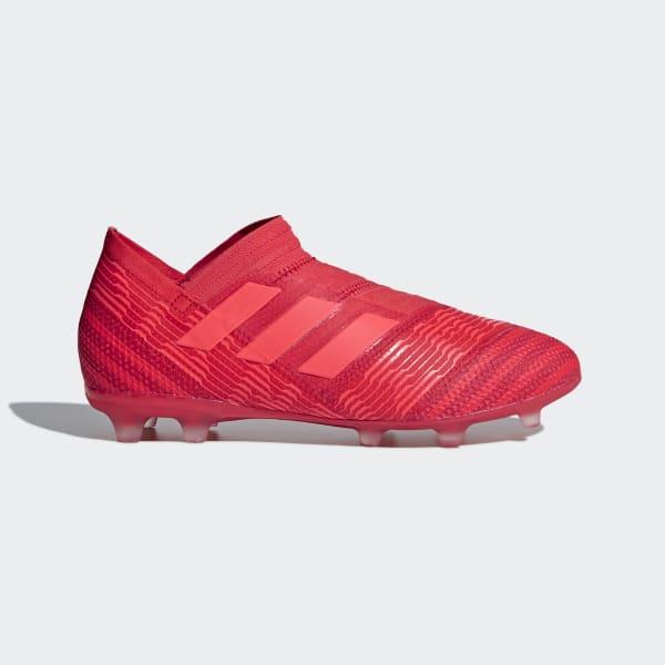 Scarpe da calcio Nemeziz 17+ 360 Agility Firm Ground Rosso CP9123