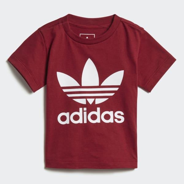 T-shirt Trefoil rouge D96100