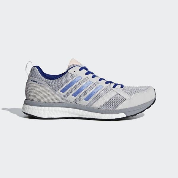 Adizero Tempo 9 Shoes Grey BB6655