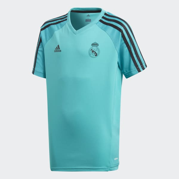 Maillot d'entraînement Real Madrid Authentic turquois BQ7928