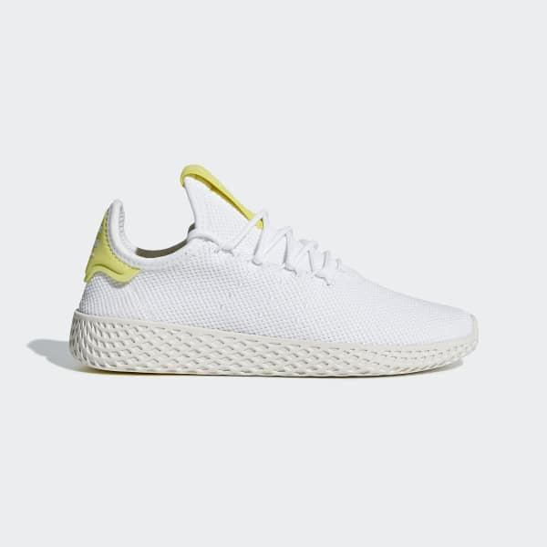 Chaussure Pharrell Williams Tennis Hu blanc BD7769