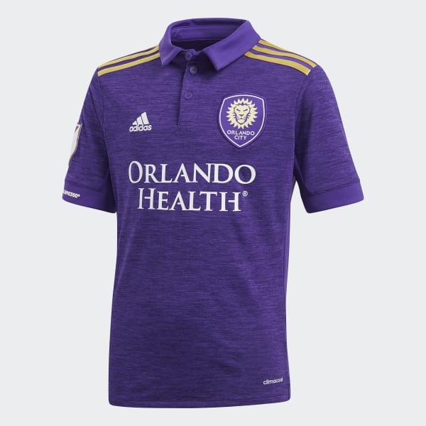 Orlando City SC Home Jersey Purple CX2305
