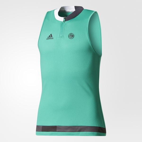 Roland Garros Ball Girl Tank Top Verde BR8125
