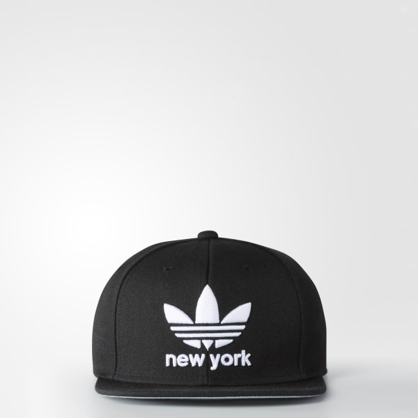 Trefoil City Snap-Back Hat Black BI5050