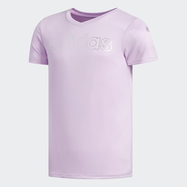 V-Neck Tee Purple CK5167