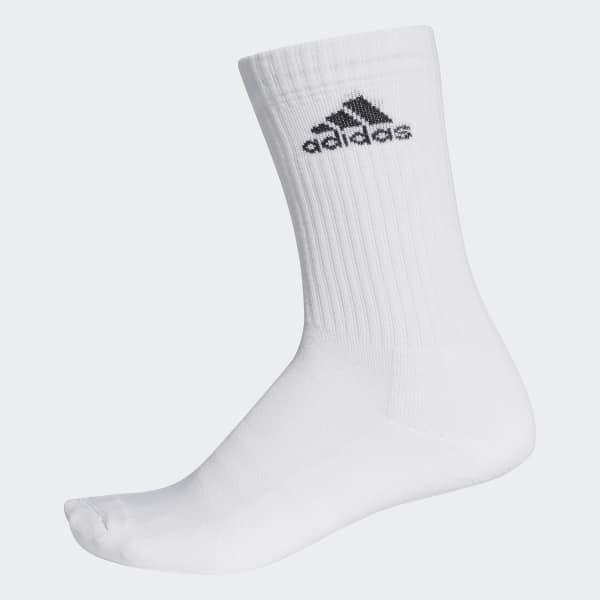 3-Stripes Performance Crew Socks 1 Pair White AA2300