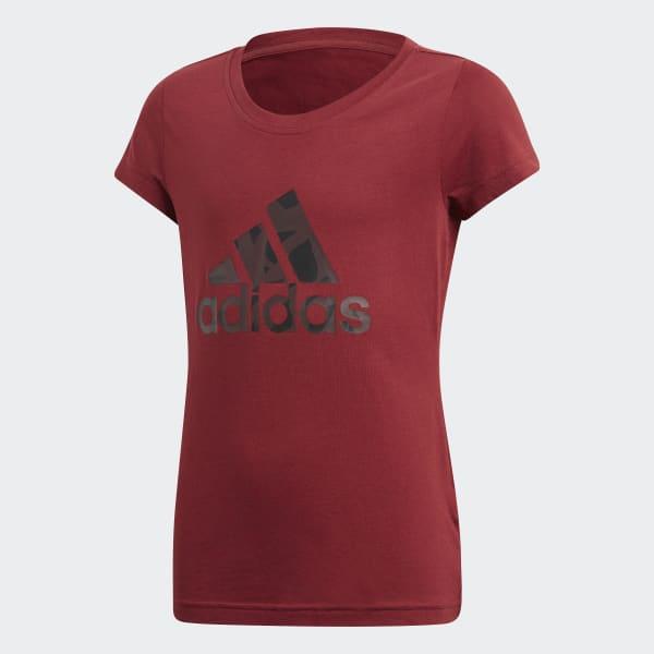 Logo T-shirt rood DJ1331