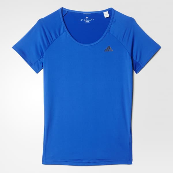 Basic Solid Performance Tee Blue AY7832