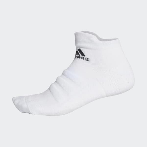 Alphaskin Lightweight Cushioning Ankle Socken weiß CV7695