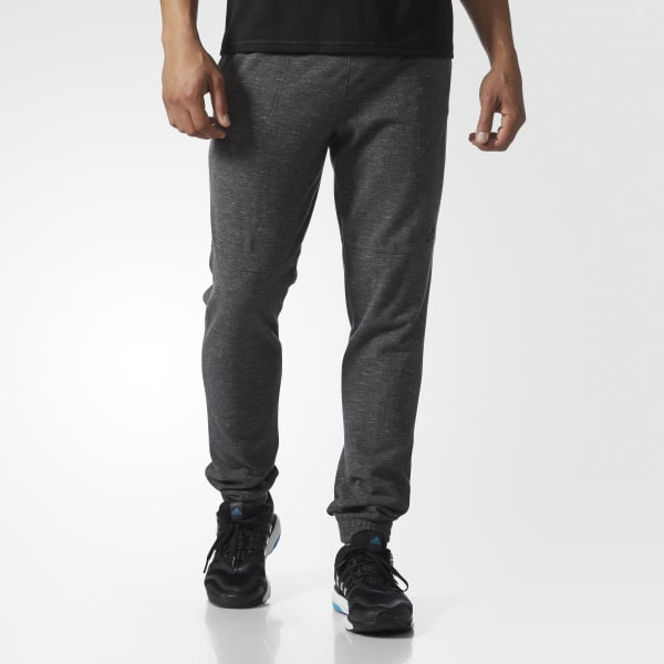 Essentials Heathered Piqué Pants Grey BS3224