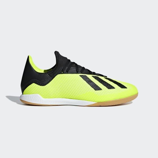 Calzado de Fútbol X Tango 18.3 Bajo Techo Amarillo DB2441