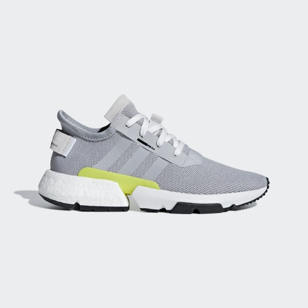 POD-S3.1 Schuh Grey Two / Grey Two / Shock Yellow B37363