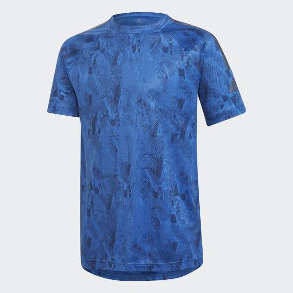 Training Cool T-shirt blauw DJ1173