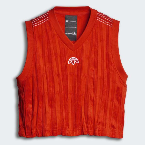 adidas Originals by Alexander Wang Crop Jersey Orange DP1062