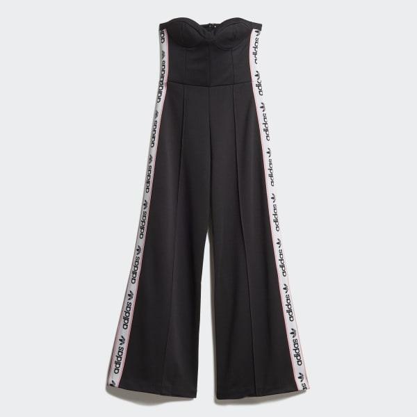Bodice Jumpsuit Black DZ0102