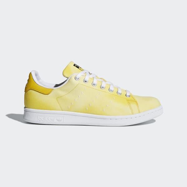 Pharrell Williams Hu Holi Stan Smith Shoes Yellow AC7042