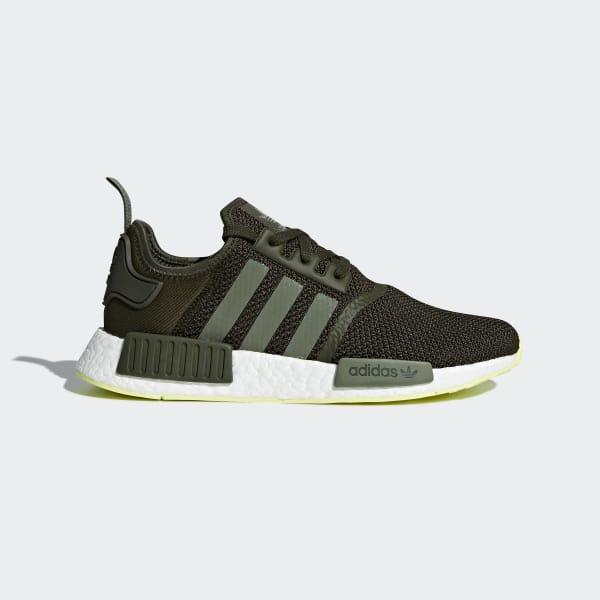 NMD_R1 sko Grøn CQ2414