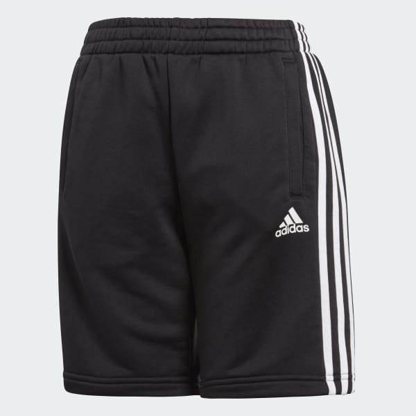 Pantaloneta Essentials 3 Rayas Negro BQ2824