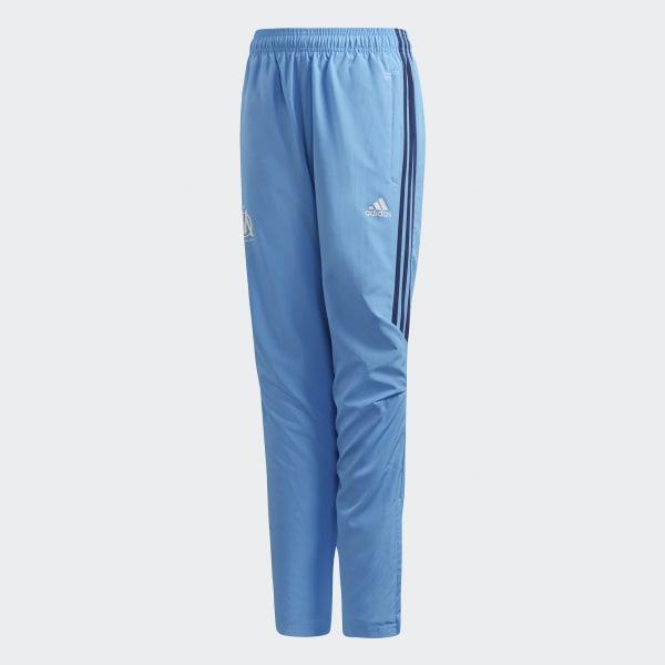 Olympique Marseille Präsentationshose blau BK5613