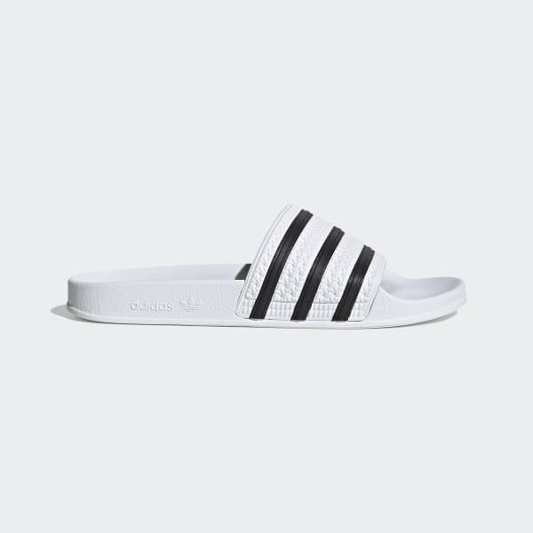 Pantofle adilette bílá 280648