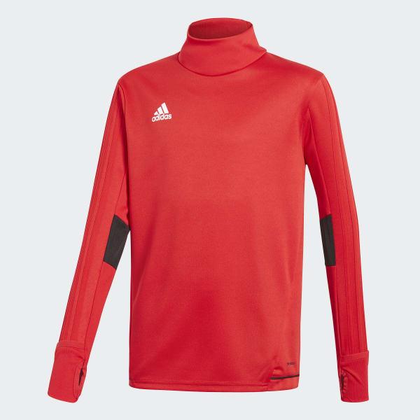 Tiro17 Trainingsshirt rood BQ2754