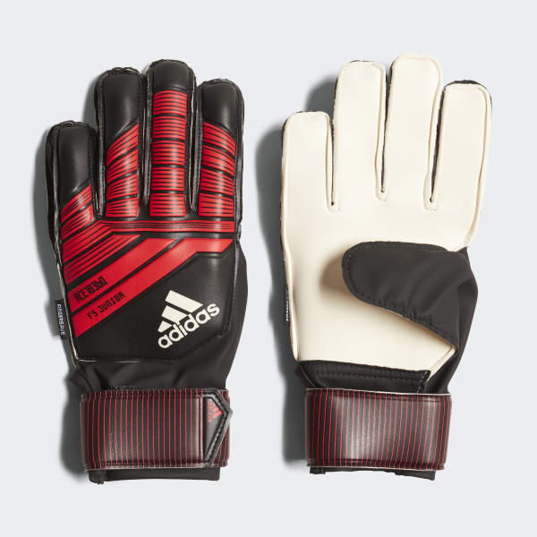 Predator Fingersave Junior Gloves Black CW5598