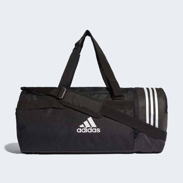 Maleta Convertible 3-Stripes Duffel Bag Medium Negro CG1533