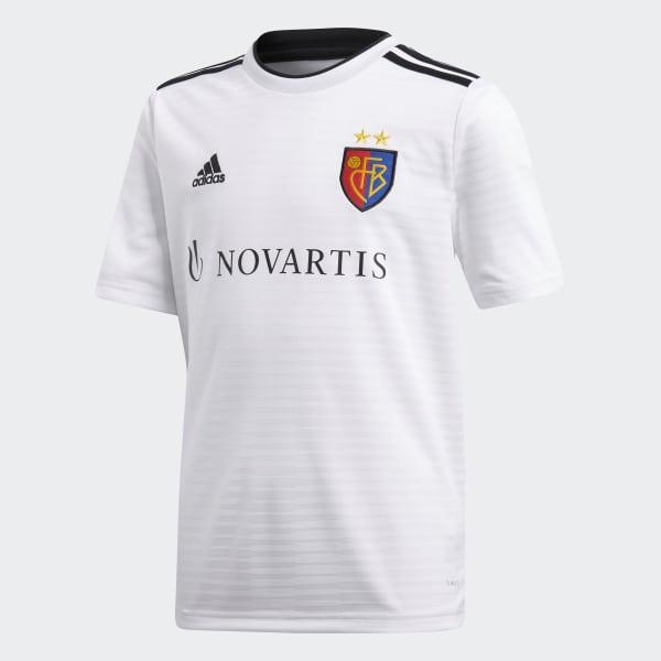 Camiseta segunda equipación FC Basilea Blanco CG0530