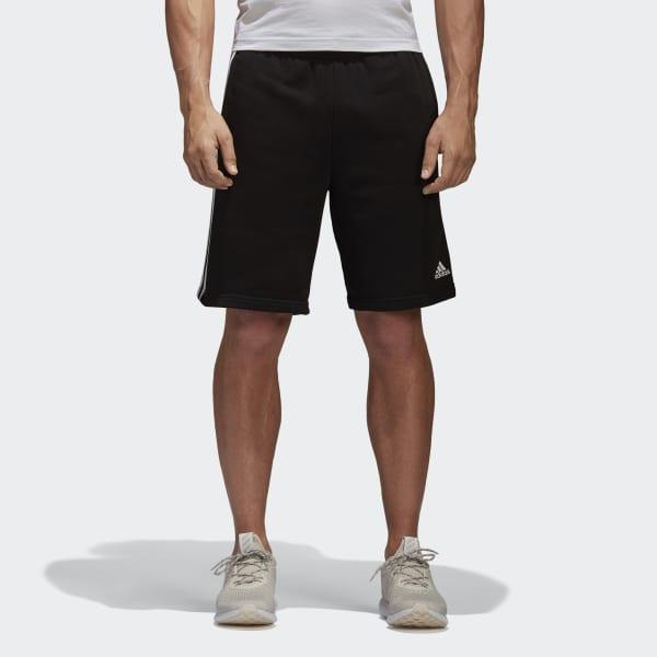 Essentials 3-Streifen Shorts schwarz BK7468