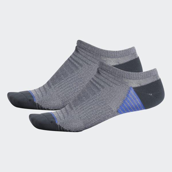 Superlite Speed Mesh No-Show Socks 2 Pairs Grey CJ0597