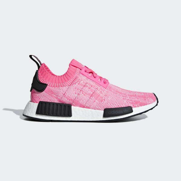 NMD_R1 Primeknit Schoenen roze AQ1104
