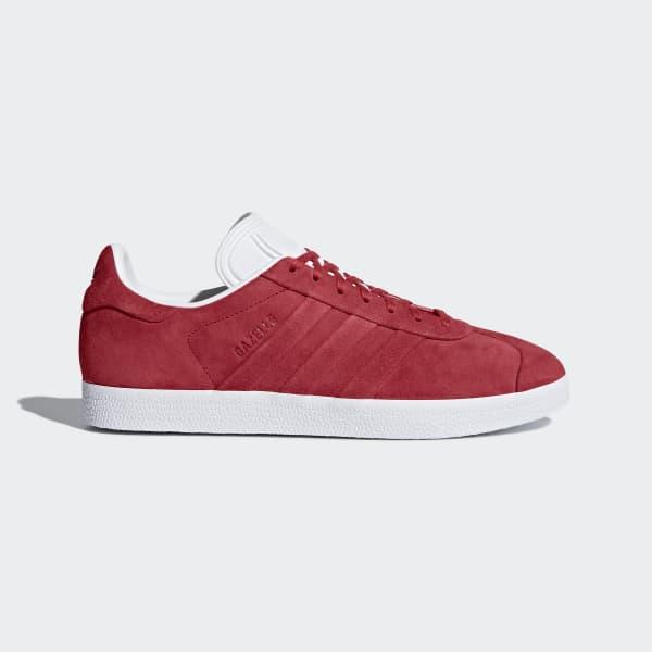 Tenis Gazelle Stitch and Turn Rojo BB6757